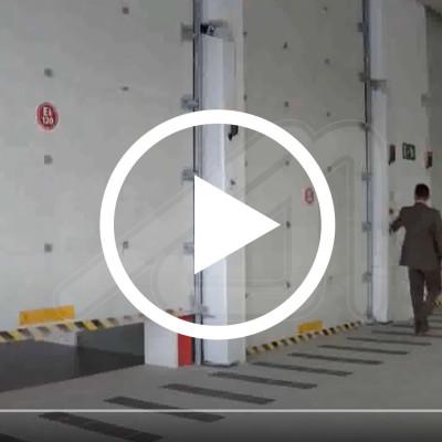 Puertas cortafuegos seccionales