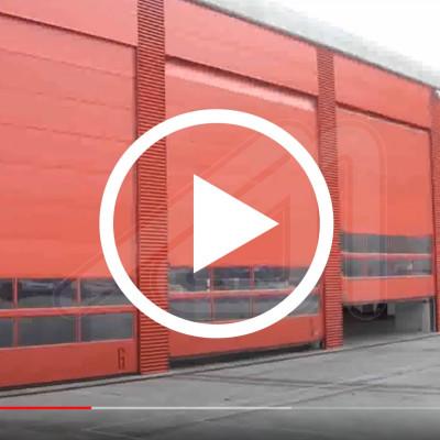 Alu-mix sectional doors