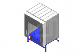 Self-supporting frame Box - Loading house