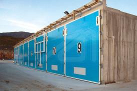 Hermetic composting doors Mircom