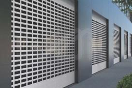 Puertas de garaje enrollables LP 100 ES1 REP