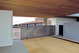 Puertas de garaje correderas Acero