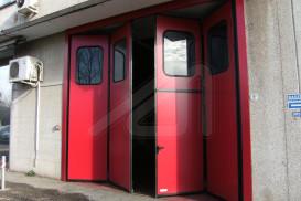 Porta plegable lateral Liber