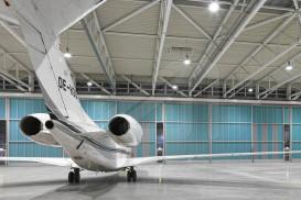 Portes industrials per hangars