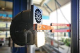 Ventilador con foco Aero-Docklight