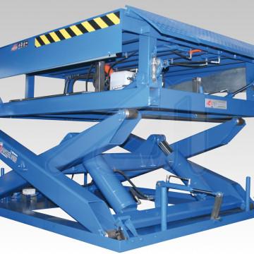 Docklift; Rampa niveladora y mesa elevadora