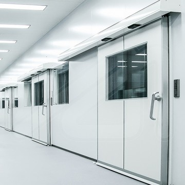 Puerta Pass-Glass Hermética