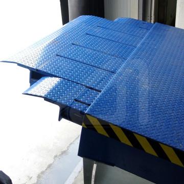 Rampa niveladora modelo Telesco Van