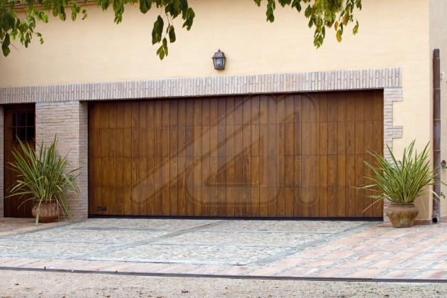 Puerta para cochera puertas levadizas corredizas seccionales vadperu puerta de garaje puerta - Puertas de cochera ...