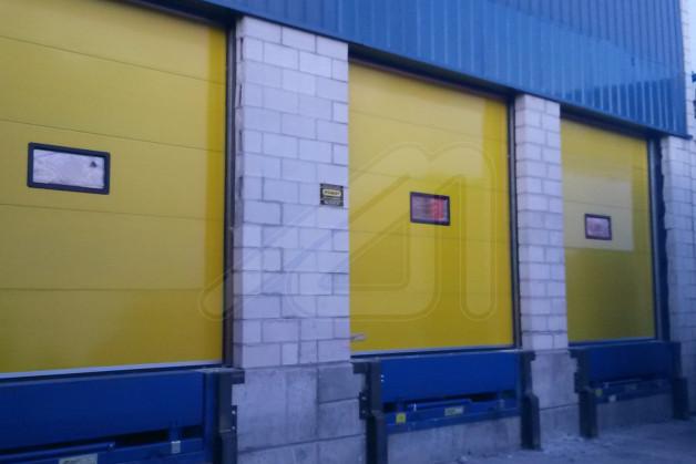 Puerta seccional eco dock angel mir ngel mir - Muelle para puertas ...