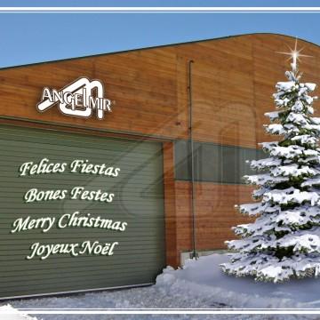 Angel Mir les desea Felices Fiestas