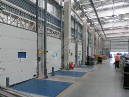 Accessories for loading bays