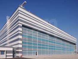 Puertas industriales para hangares