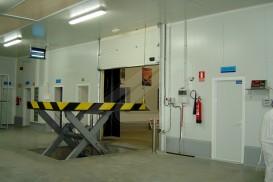 Mesa elevadora de muelle de carga