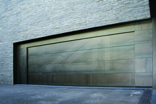 Sectional Garage Door Corten Sheet