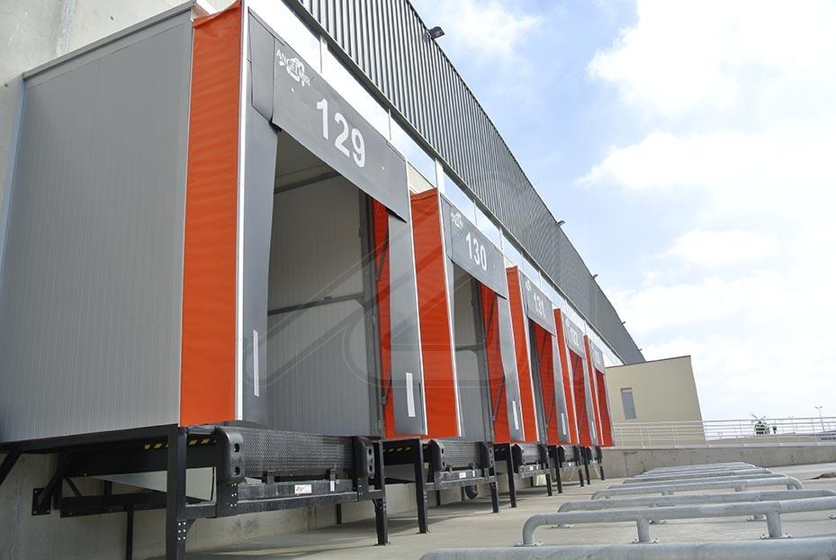 Models of loading dock shelters
