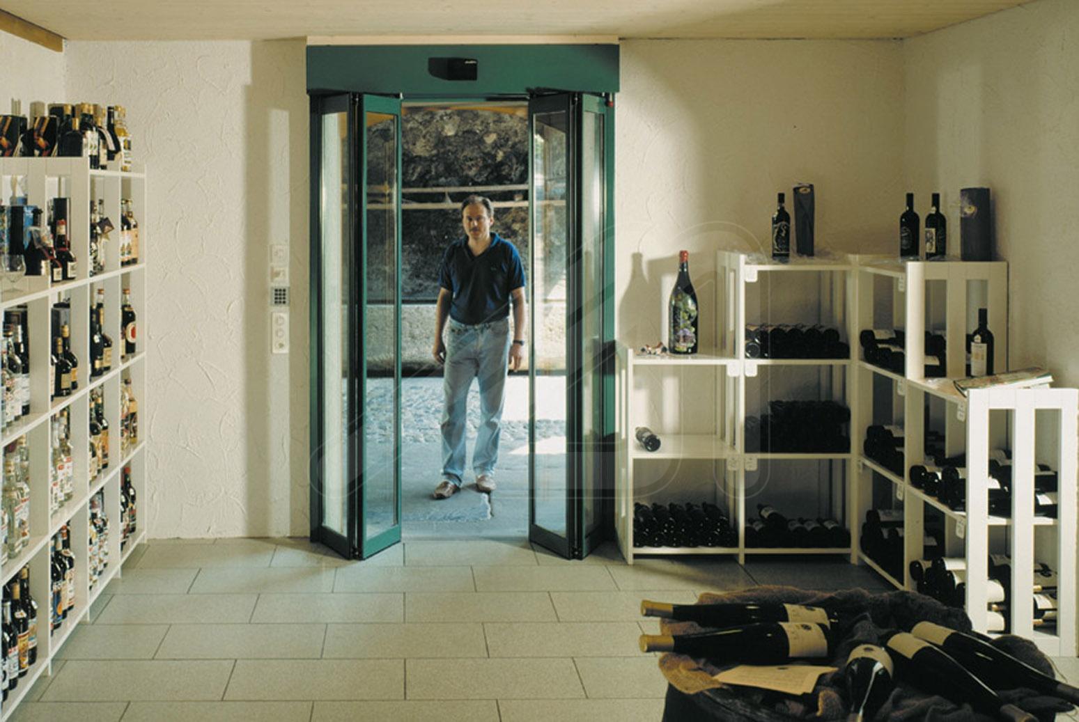Puerta R Pida Corredera Para El Comercio Pass Glass Slx Angel  ~ Puerta Corredera Cristal Exterior