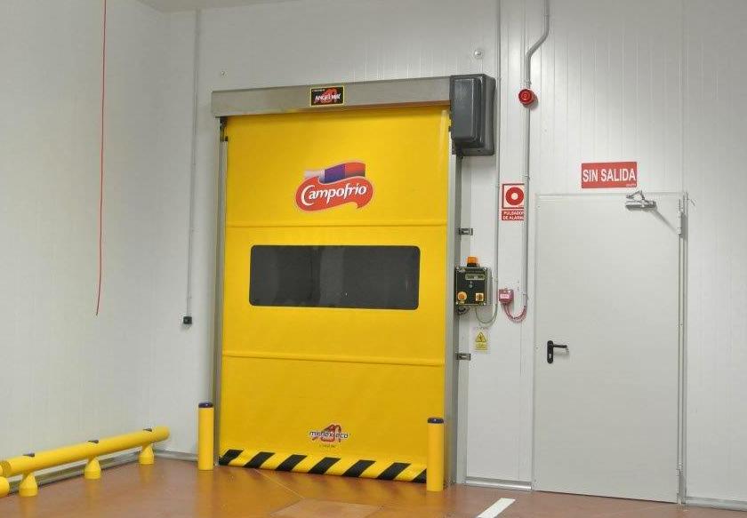 puerta de rollo rápido industria colombia