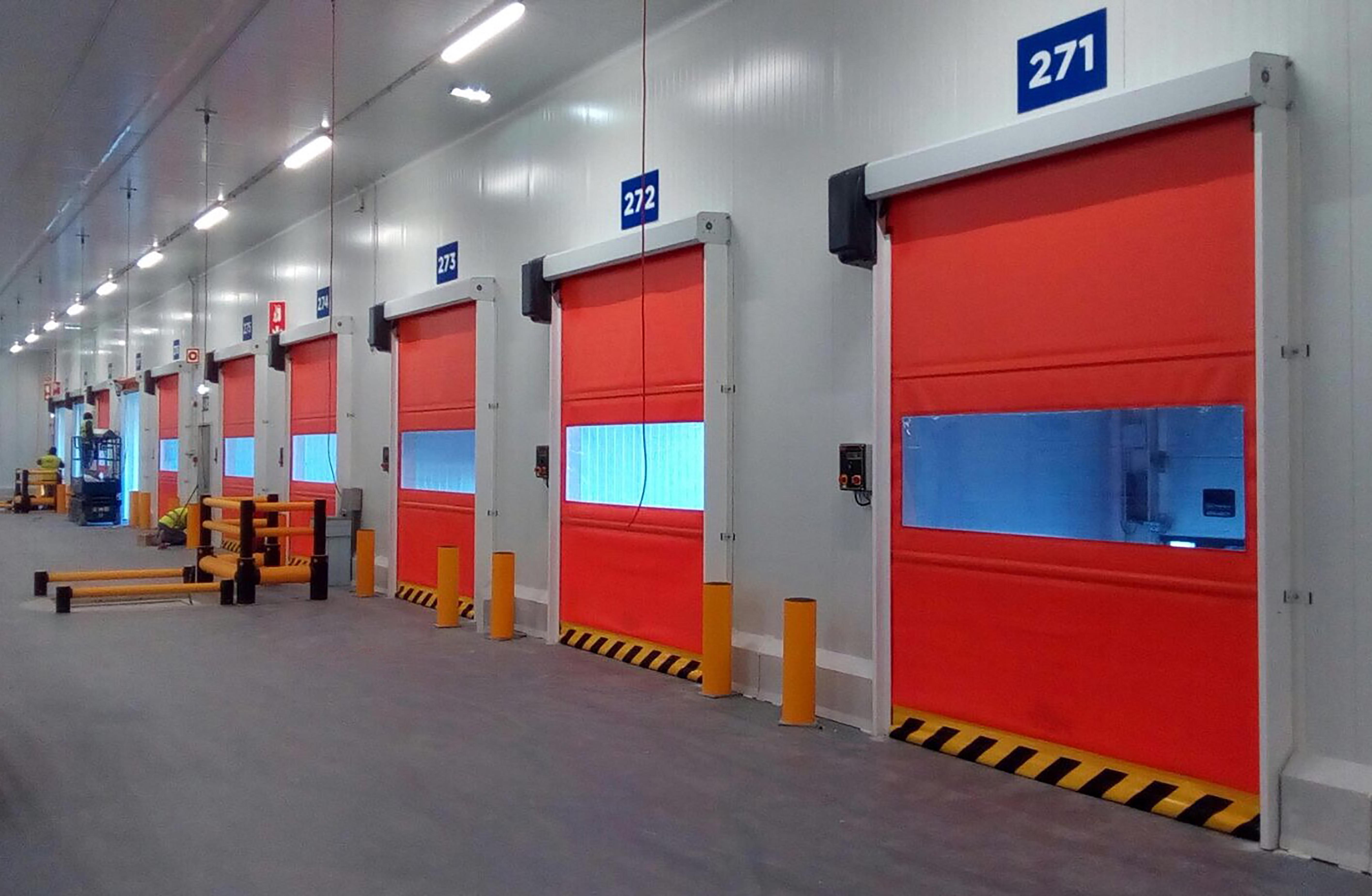 speed auto-tracking door warehouse